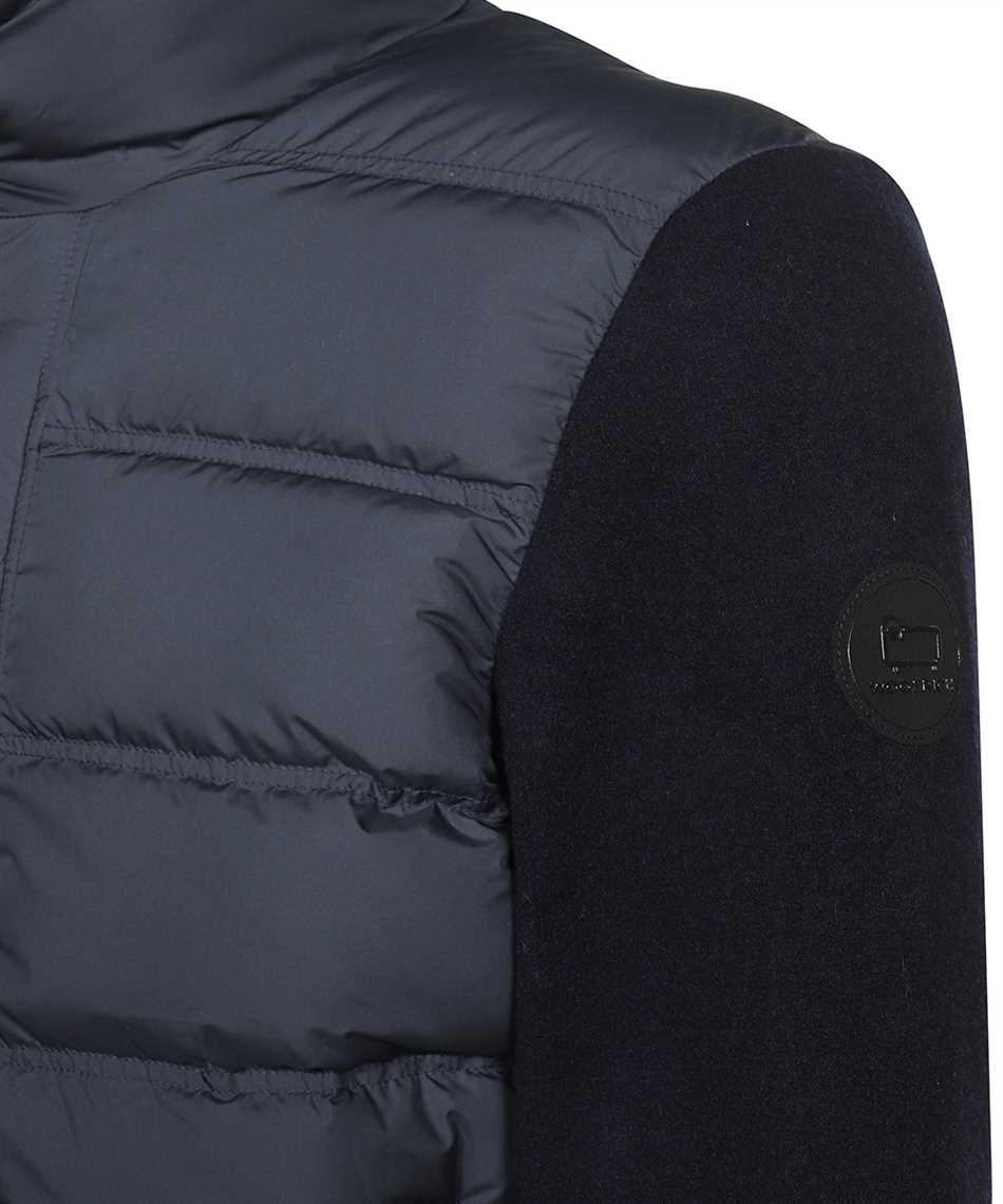 Woolrich CFWOSW0114MRUT2849 BONDED WOOL FULL ZIP Jacket 3