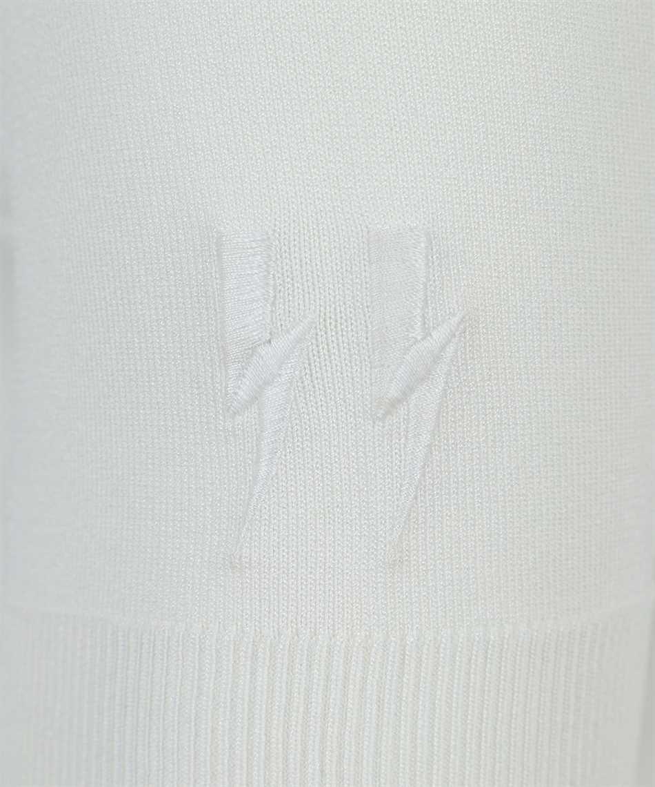 Neil Barrett PBMA1063E Q600 TRAVEL TECNO KNIT T-Shirt 3