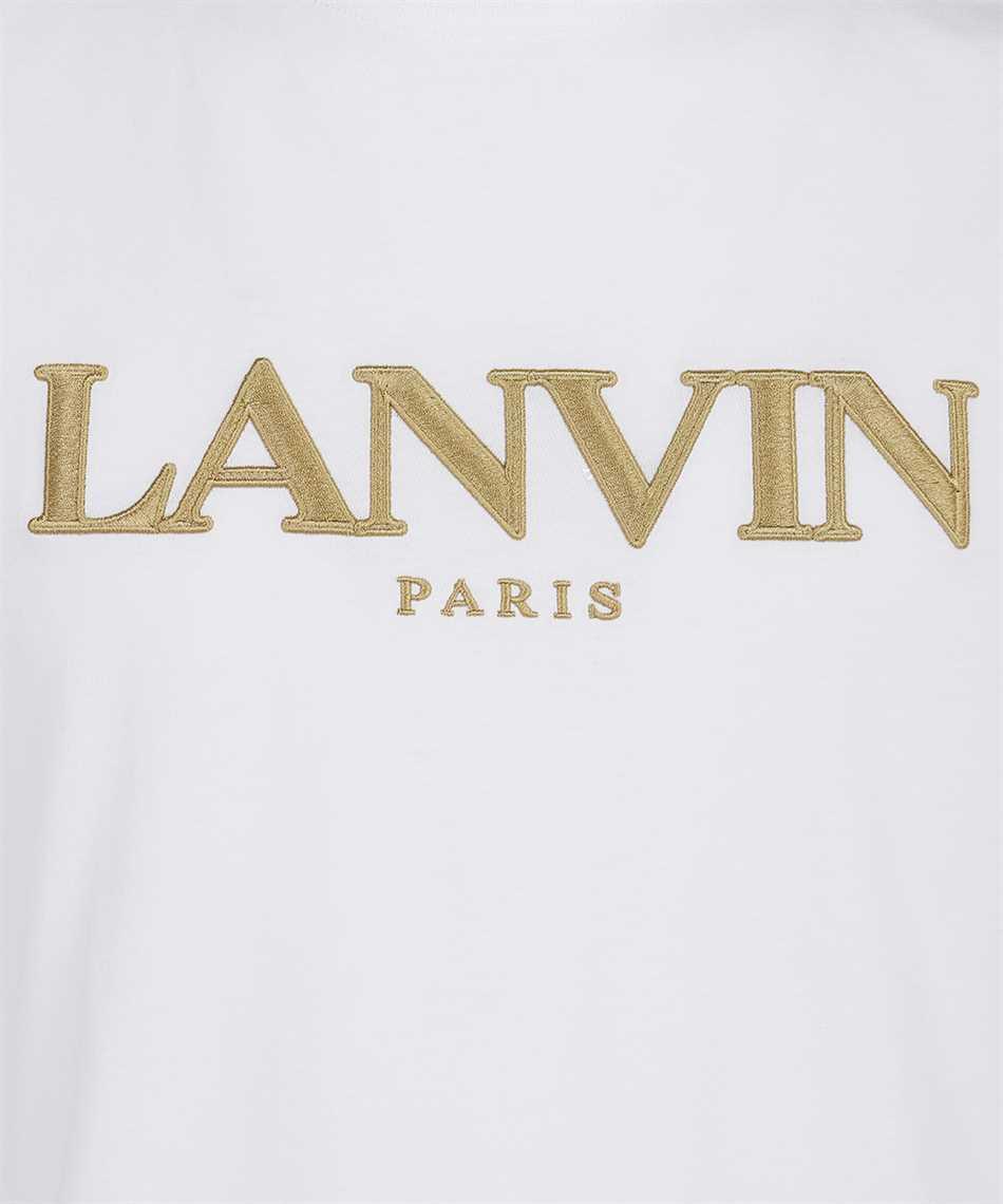 Lanvin RM TS0002 J007 E21 PARIS EMBROIDERED T-Shirt 3