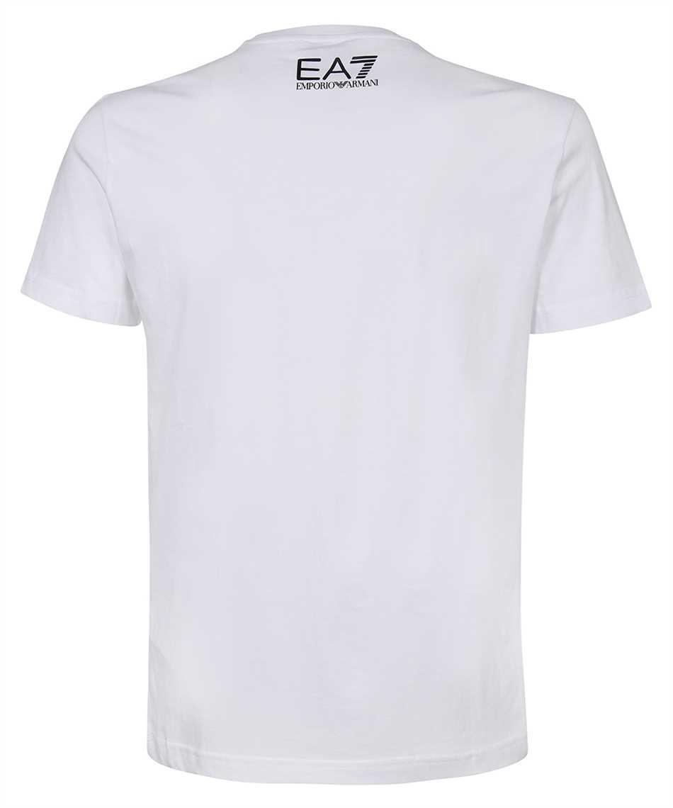 EA7 3KPT07 PJA2Z OVERSIZED LOGO T-shirt 2