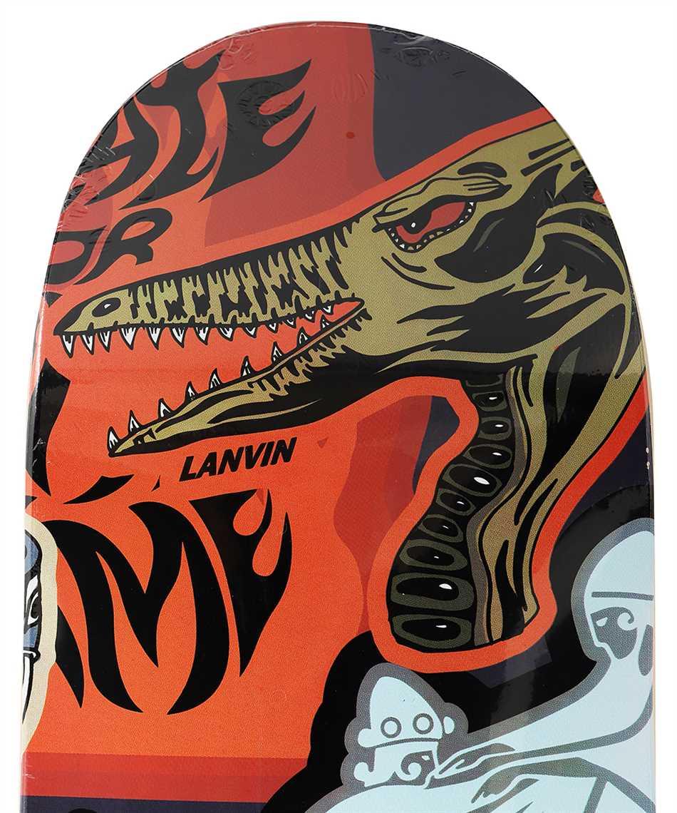Lanvin AM SILSKT TRIP H21 TRIPTIQUE Skateboard deck 3