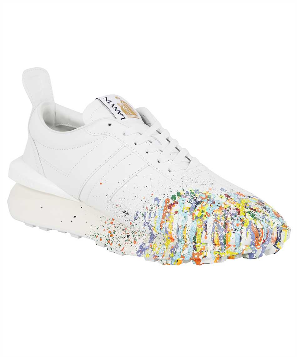 Lanvin FM SKBRUC SGGD E21 PAINTED NAPPA LEATHER BUMPR RUNNING Sneakers 2