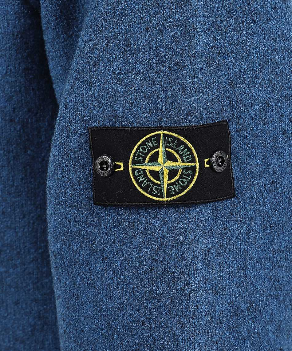 Stone Island 565A6 FELTED PURE WOOL Giacca 3
