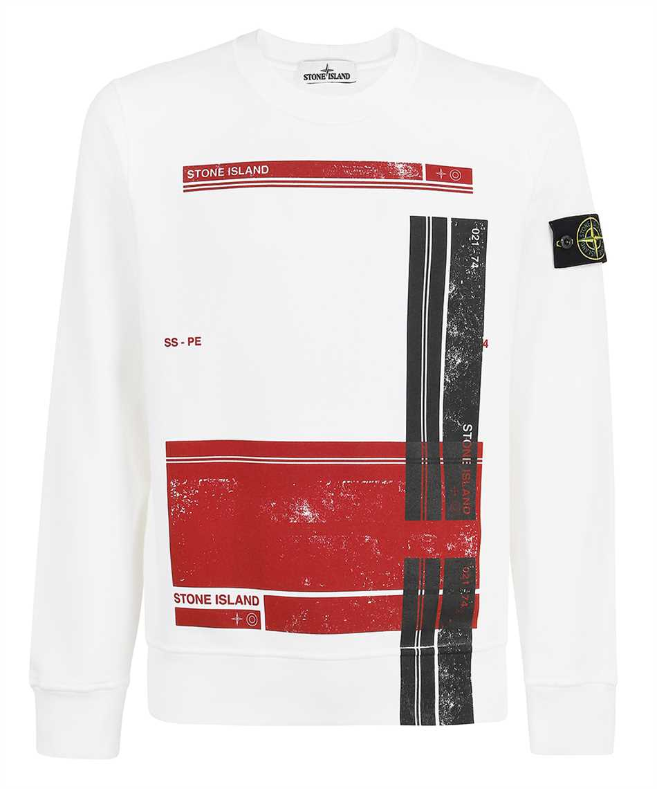 Stone Island 63095 BLOCK Sweatshirt 1