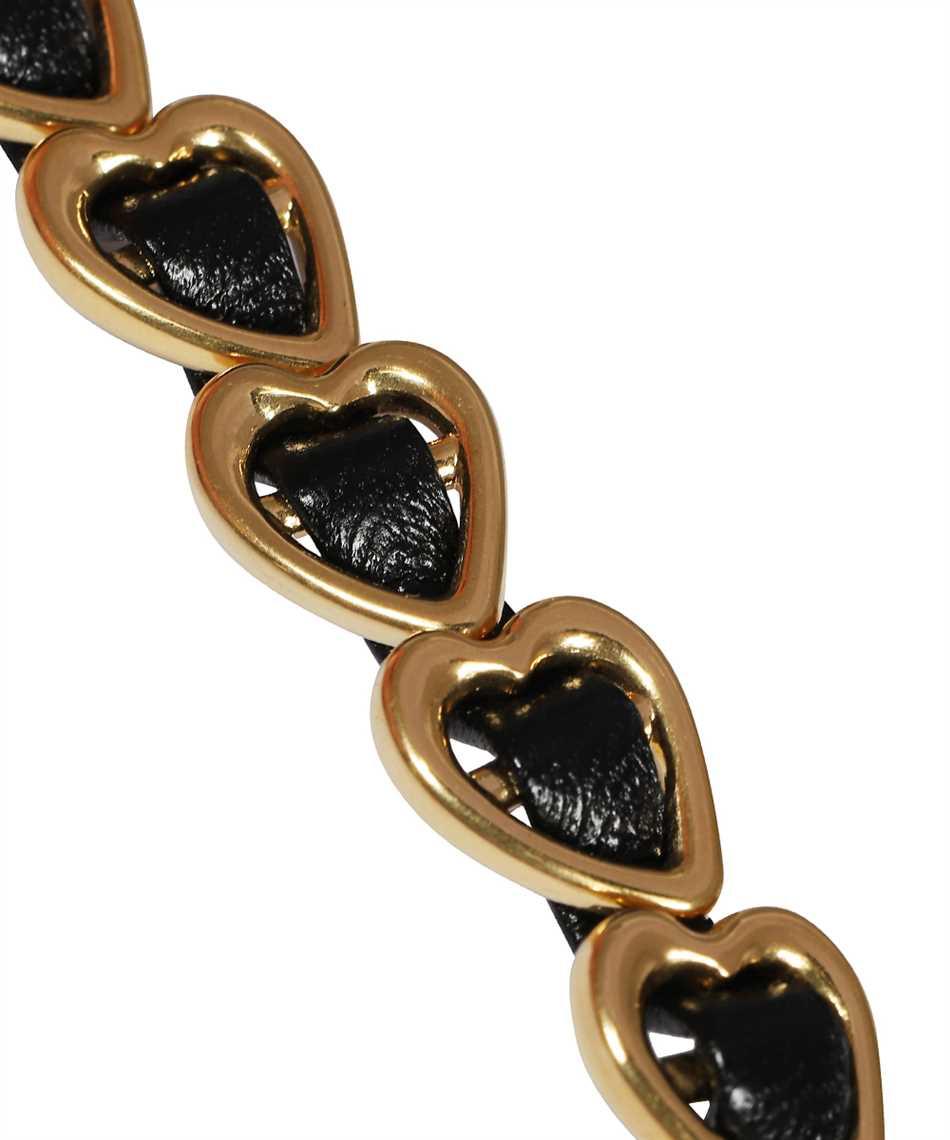 Saint Laurent 634490 BL44J STARS & LOVE WOVEN HEART Armband 3