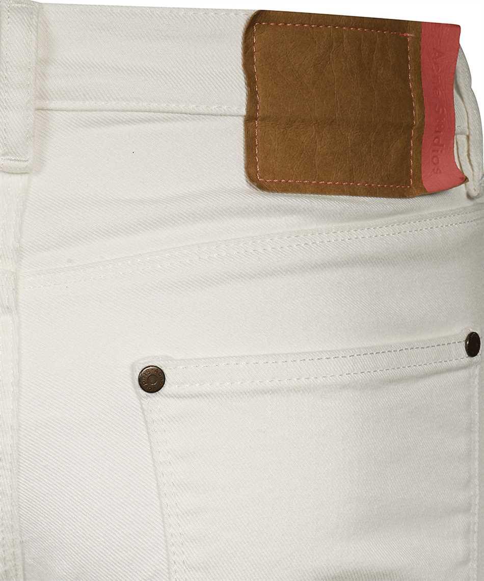 Acne Max White Jeans 3