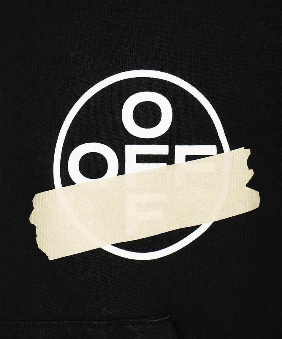 Off-White OMBB037R20E30002 TAPE ARROWS Felpa 3