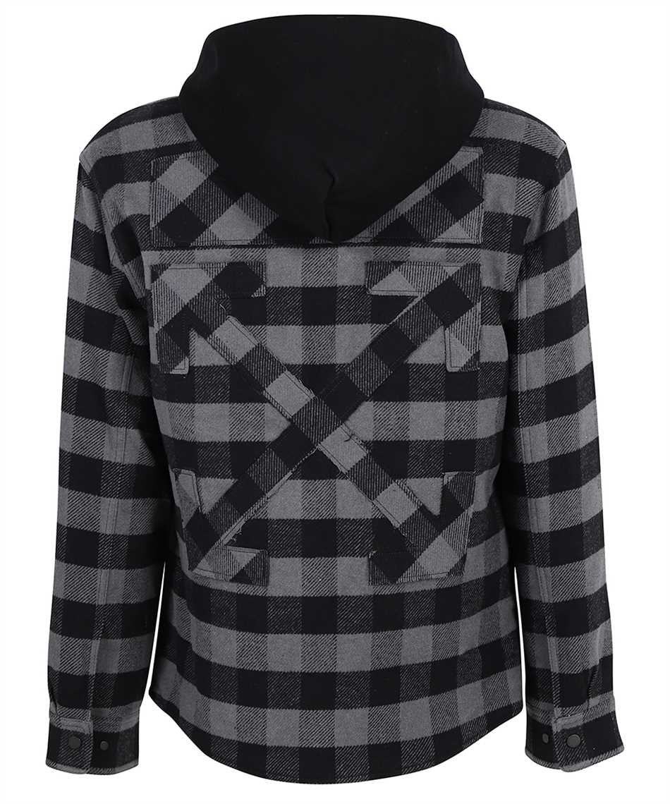 Off-White OMEA236F21FAB001 ARROW PADDED FLANNEL Camicia 2