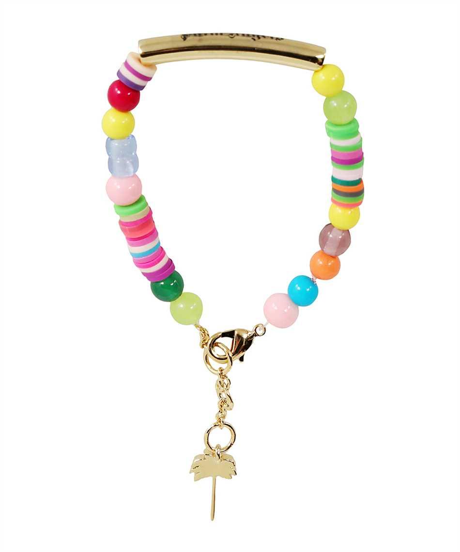 Palm Angels PMOA006F21MAT001 LOGO RAINBOW Bracelet 2
