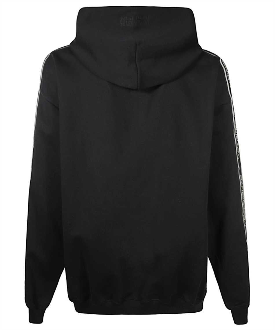 Vetements UE51TR700B LOGO TAPE Kapuzen-Sweatshirt 2