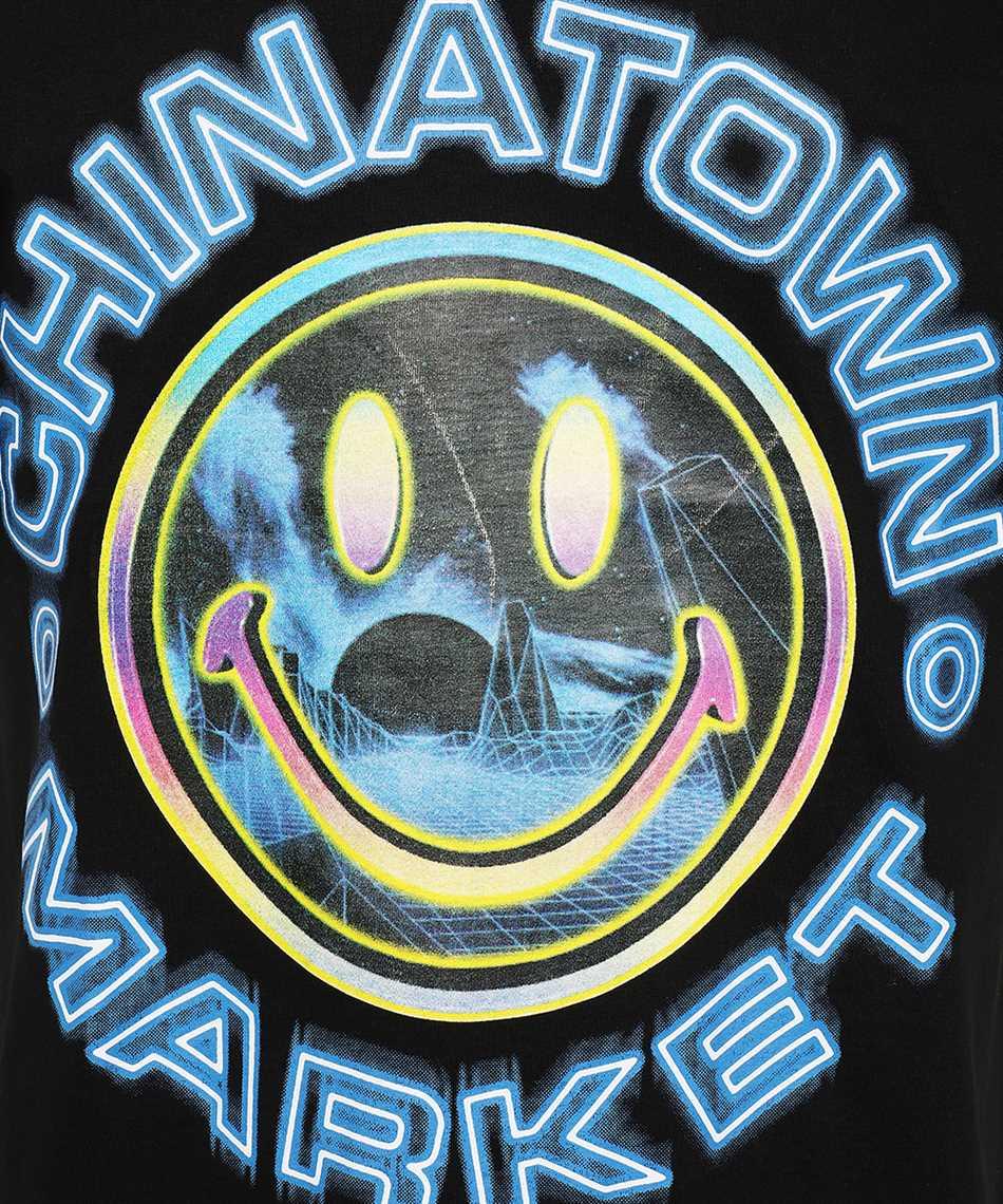 Chinatown Market 1990558 SMILEY VAPOR WAVE T-Shirt 3