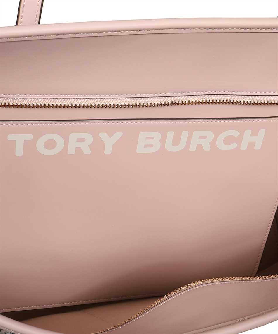 Tory Burch 58450 GEMINI LINK CANVAS TOP-ZIP TOTE Bag 3