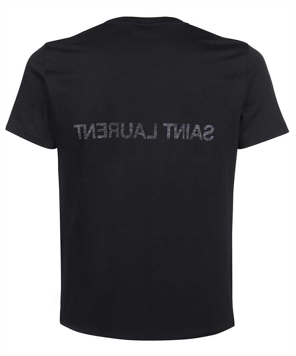 Saint Laurent 663278 Y36HE REVERSE T-shirt 2