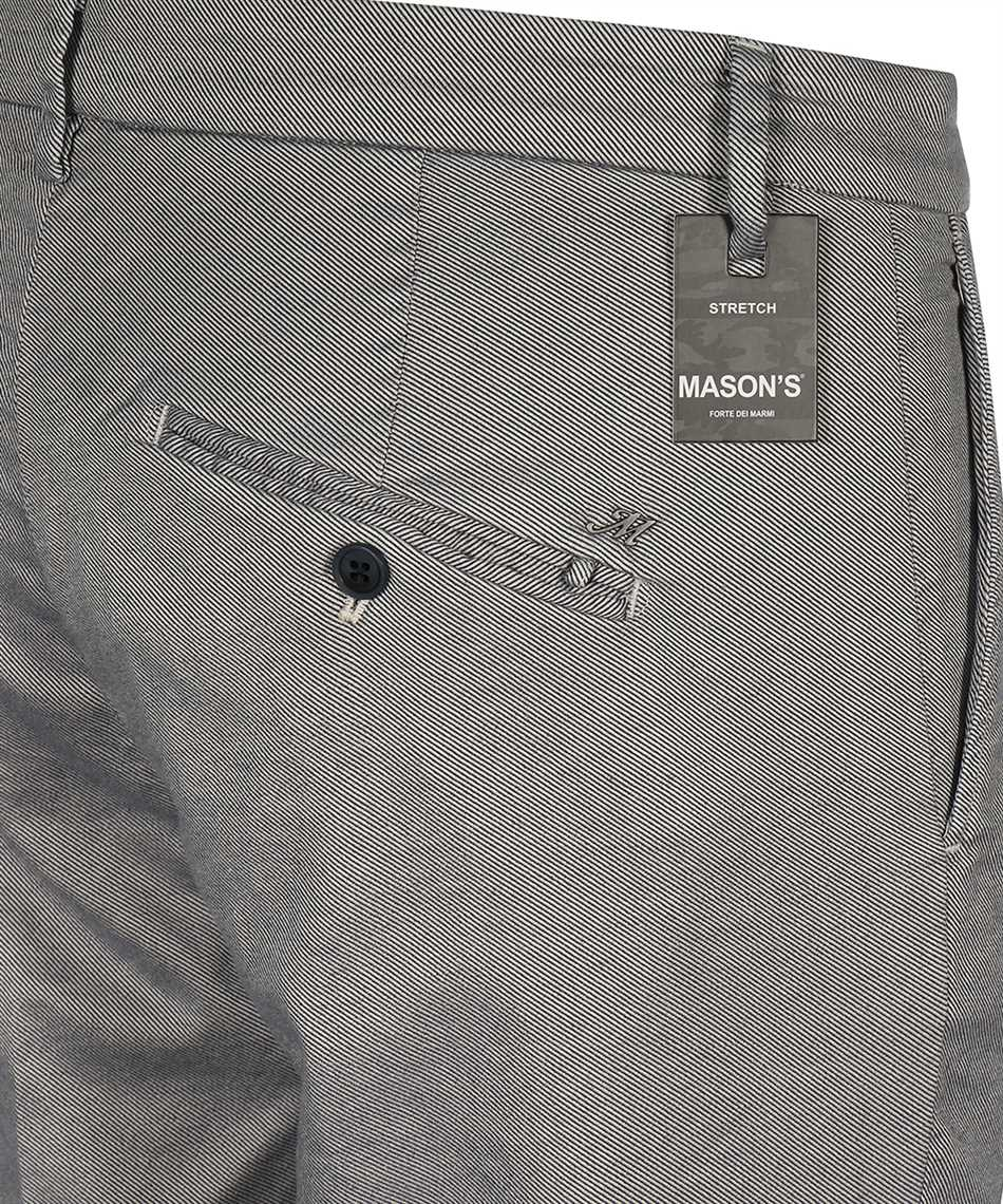 Mason's 9PN2C7353 MBE094 CARROT FIT Trousers 3