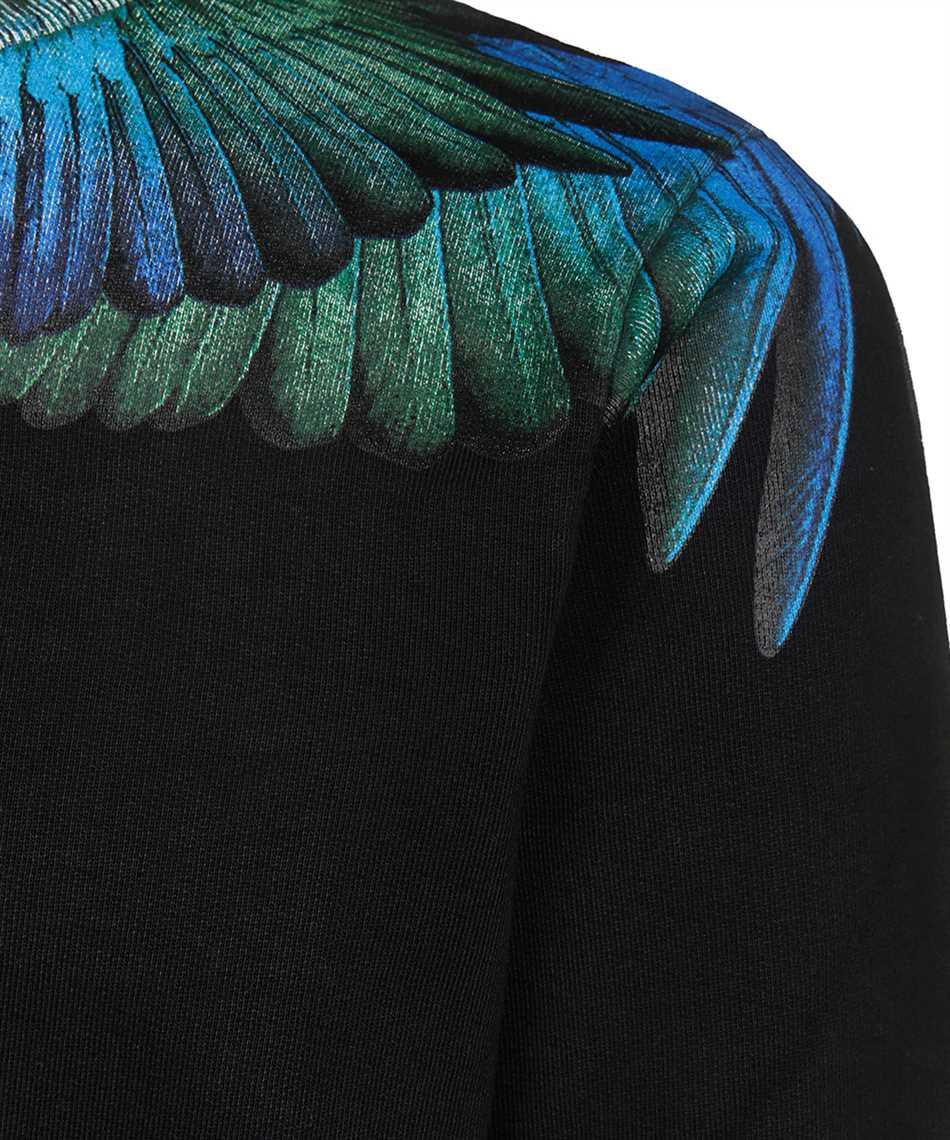 Marcelo Burlon CMBA009F19506006 BLUE WINGS Sweatshirt 3