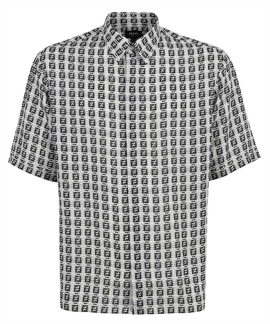 Fendi FS0795 AFXE OVERSIZED FF MICRO PATTERN Shirt 1