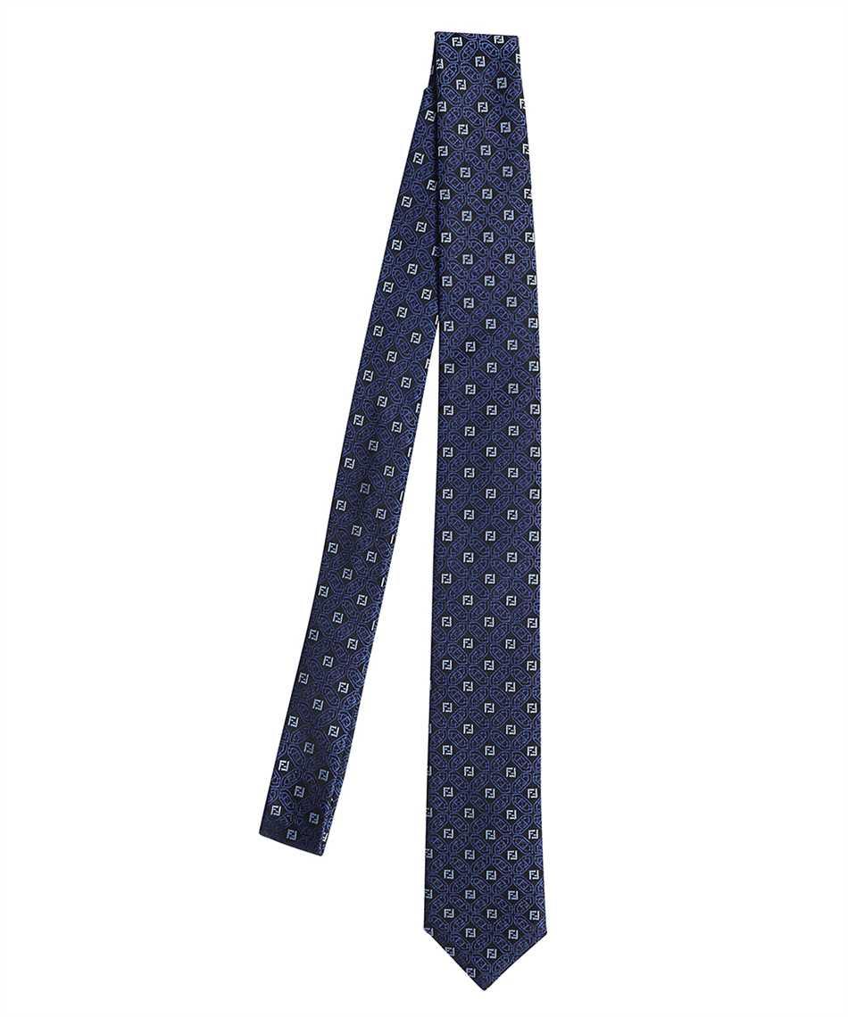 Fendi FXC023 AFY0 JACQUARD FF Krawatte 1