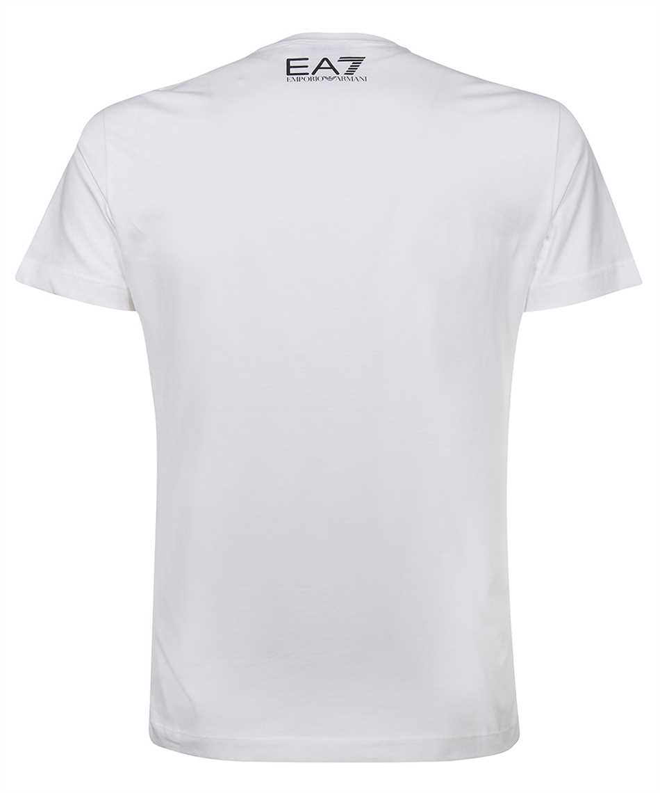 EA7 3KPT30 PJACZ LOGO STRETCH JERSEY T-shirt 2