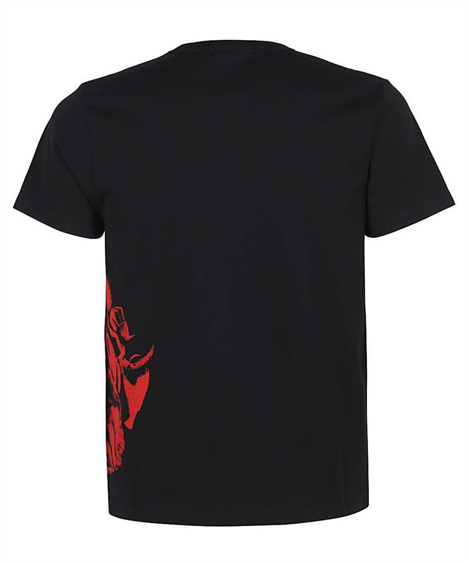 Alexander McQueen 650424 QQZ66 FLORAL SKULL T-Shirt 2