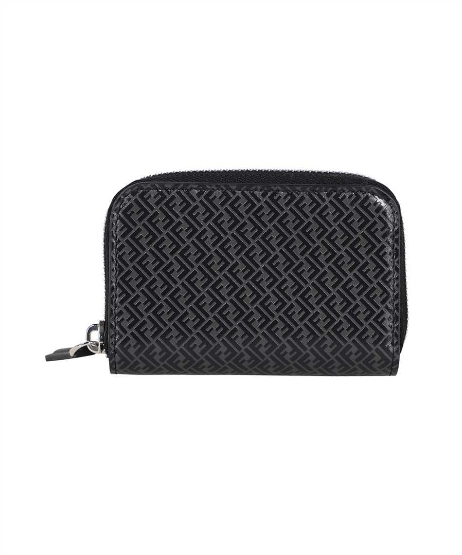 Fendi 7M0257 AGLP SMALL ZIP Porta carte di credito 2