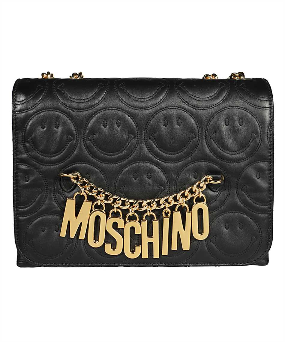 Moschino A7440 8002 SMILEY SHOULDER Bag 1