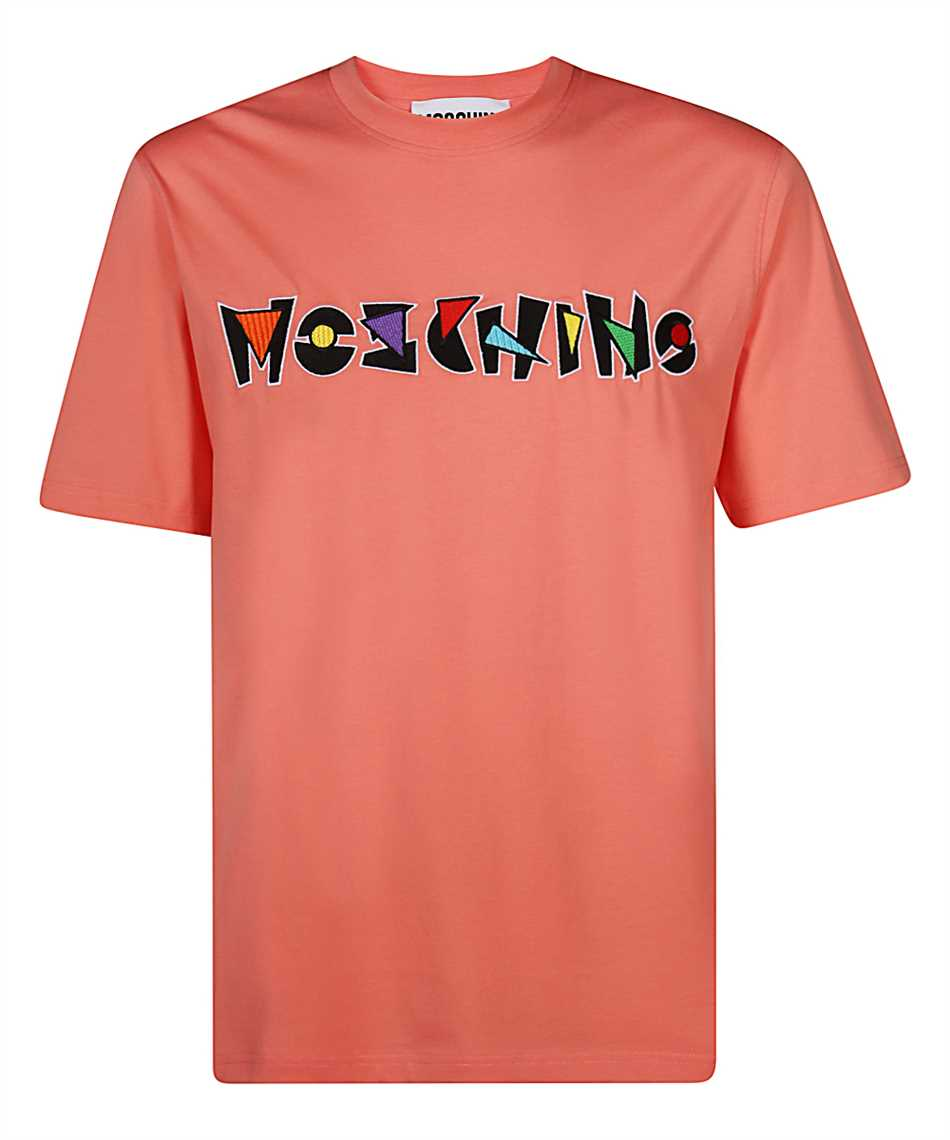 Moschino J0716 2040 GEOMETRIC LOGO T-shirt 1