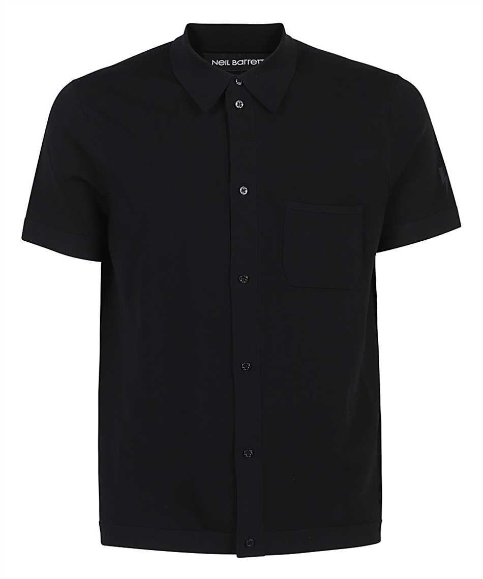 Neil Barrett PBMA1164E Q617C TRAVEL KNIT Shirt 1