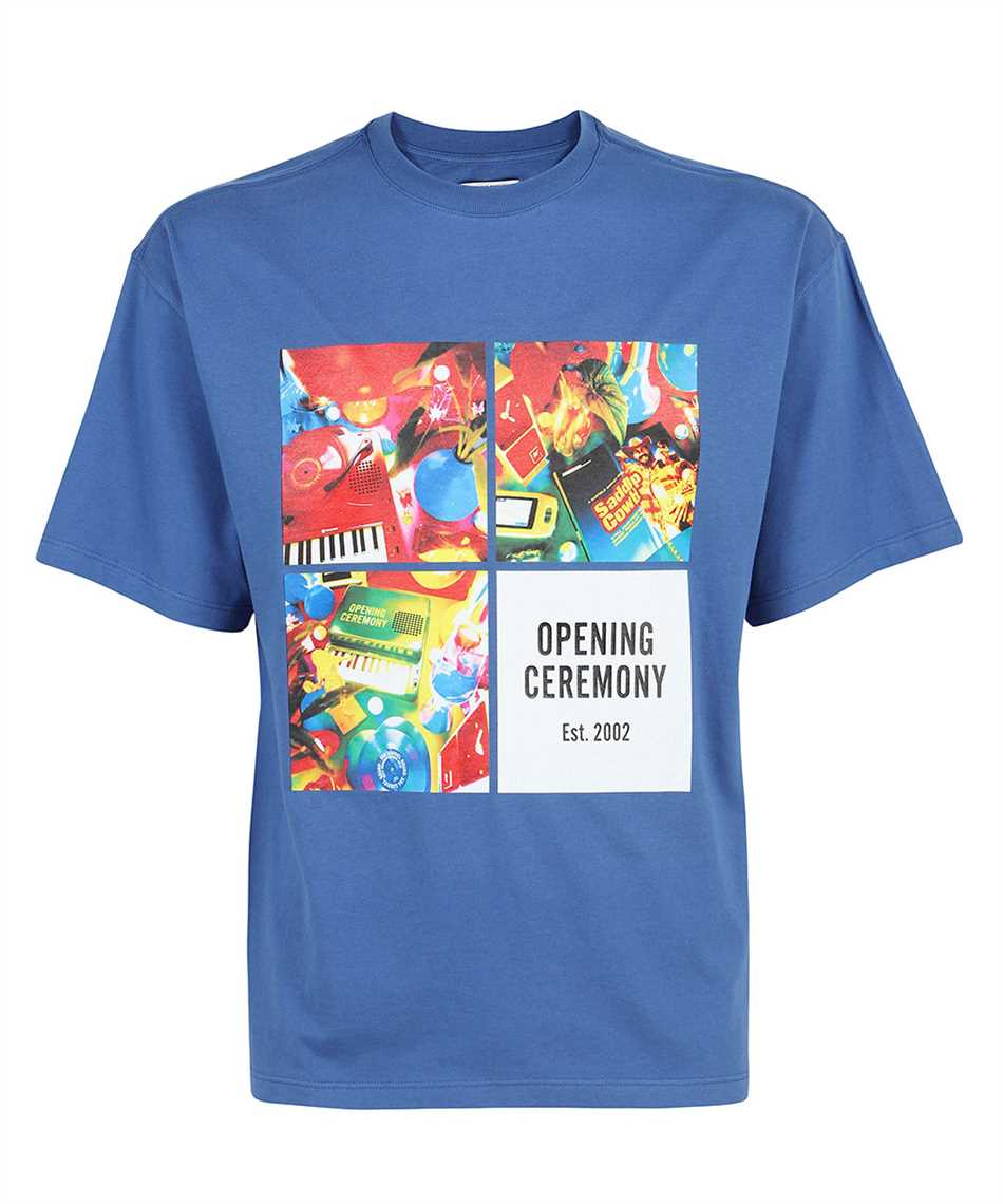Opening Ceremony YMAA001S21JER006 BOXES PRINT REGULAR T-Shirt 1