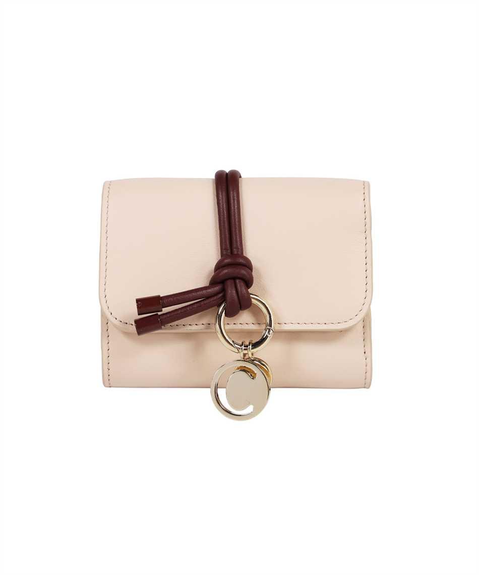 Chloé CHC21WP945F47 ALPHABET TRI-FOLD Wallet 1