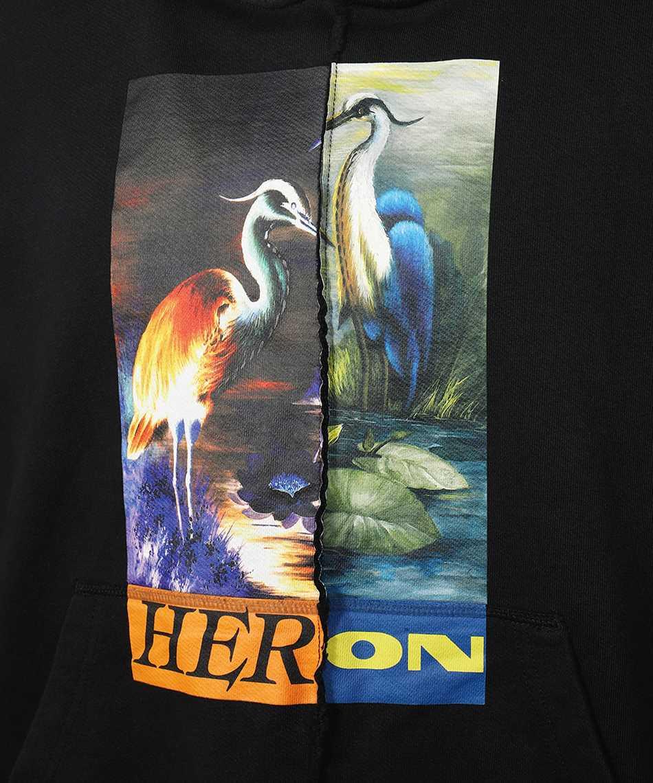 Heron Preston HMBB021F21JER002 SPLIT GRAPHIC Hoodie 3