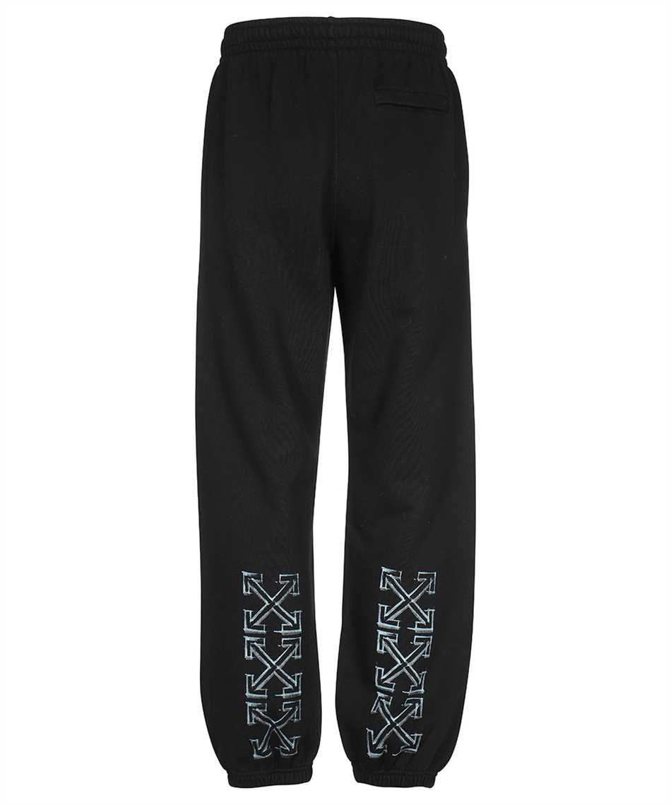 Off-White OMCH029F21FLE006 MARKER SLIM Trousers 2