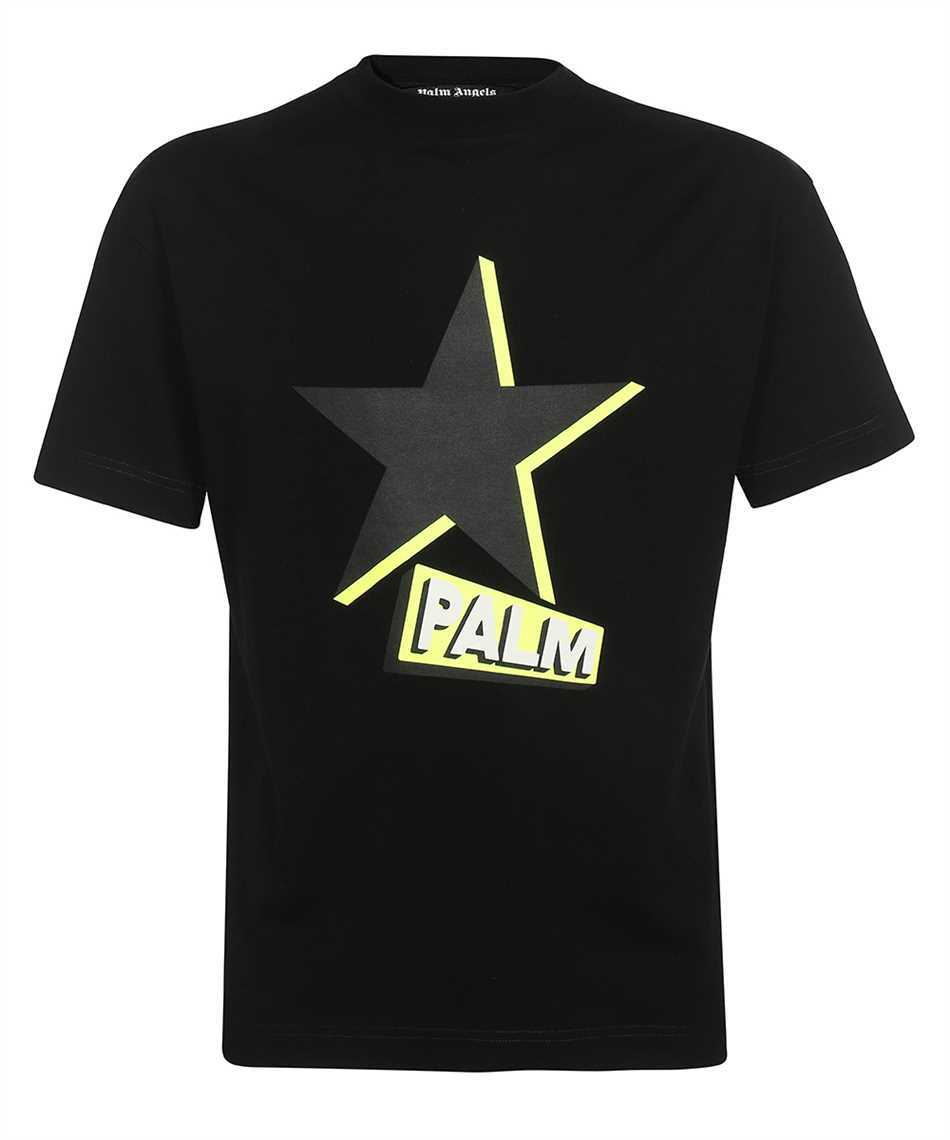 Palm Angels PMAA001F21JER013 ROCKSTAR T-Shirt 1