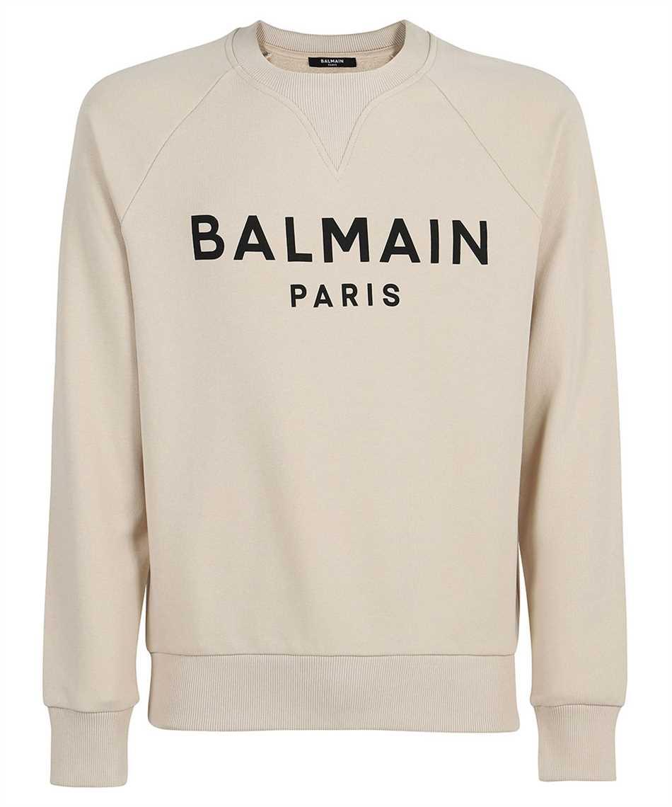 Balmain WH1JQ005B115 PRINTED LOGO Sweatshirt 1