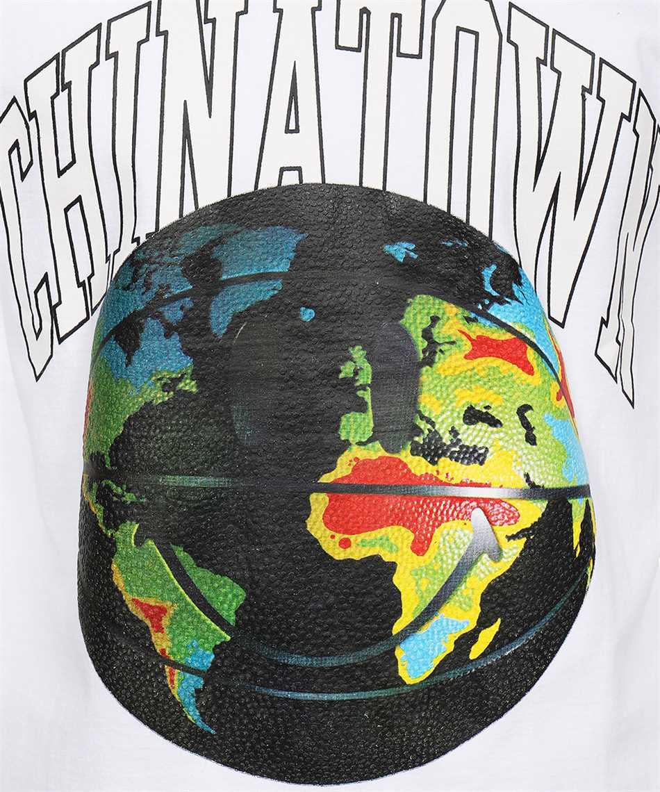 Chinatown Market 1990409 SMILEY GLOBAL CITIZEN B-BALL T-shirt 3