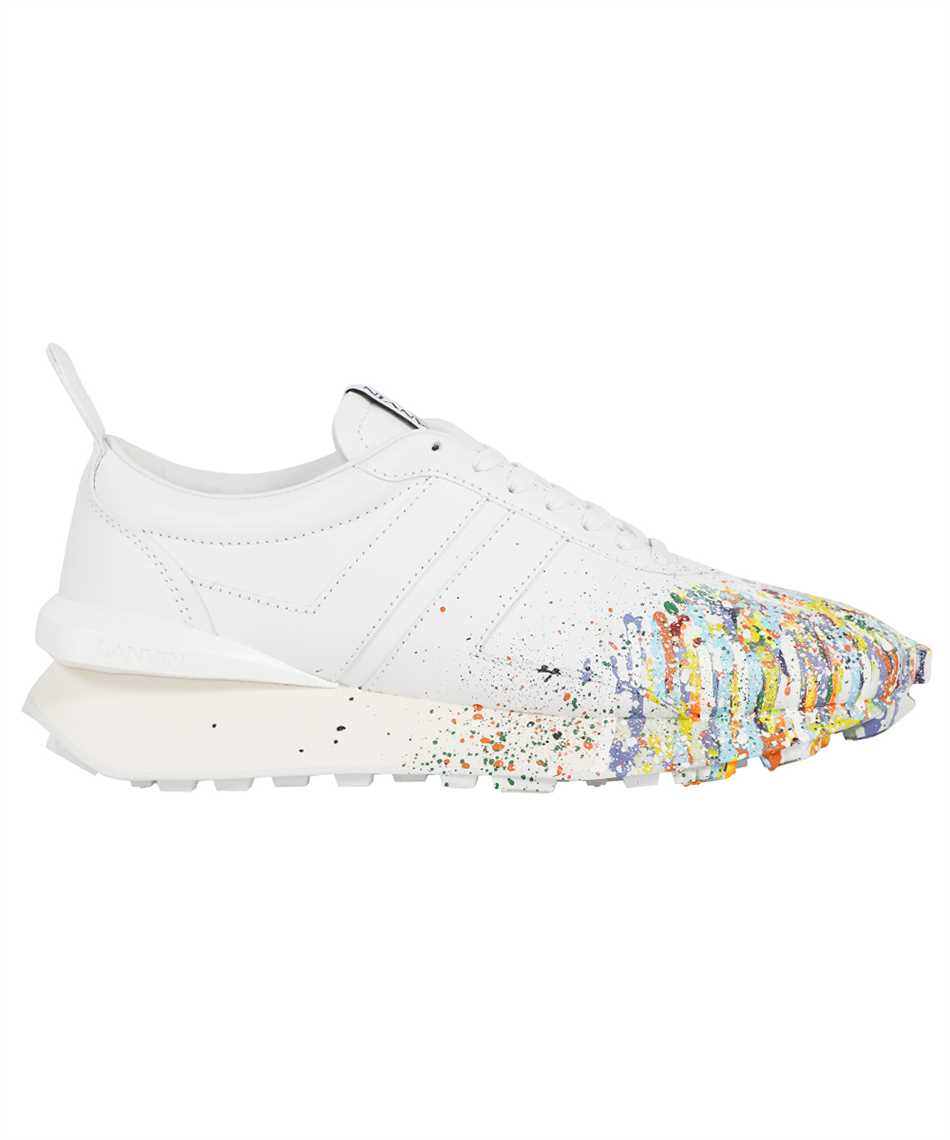 Lanvin FM SKBRUC SGGD E21 PAINTED NAPPA LEATHER BUMPR RUNNING Sneakers 1