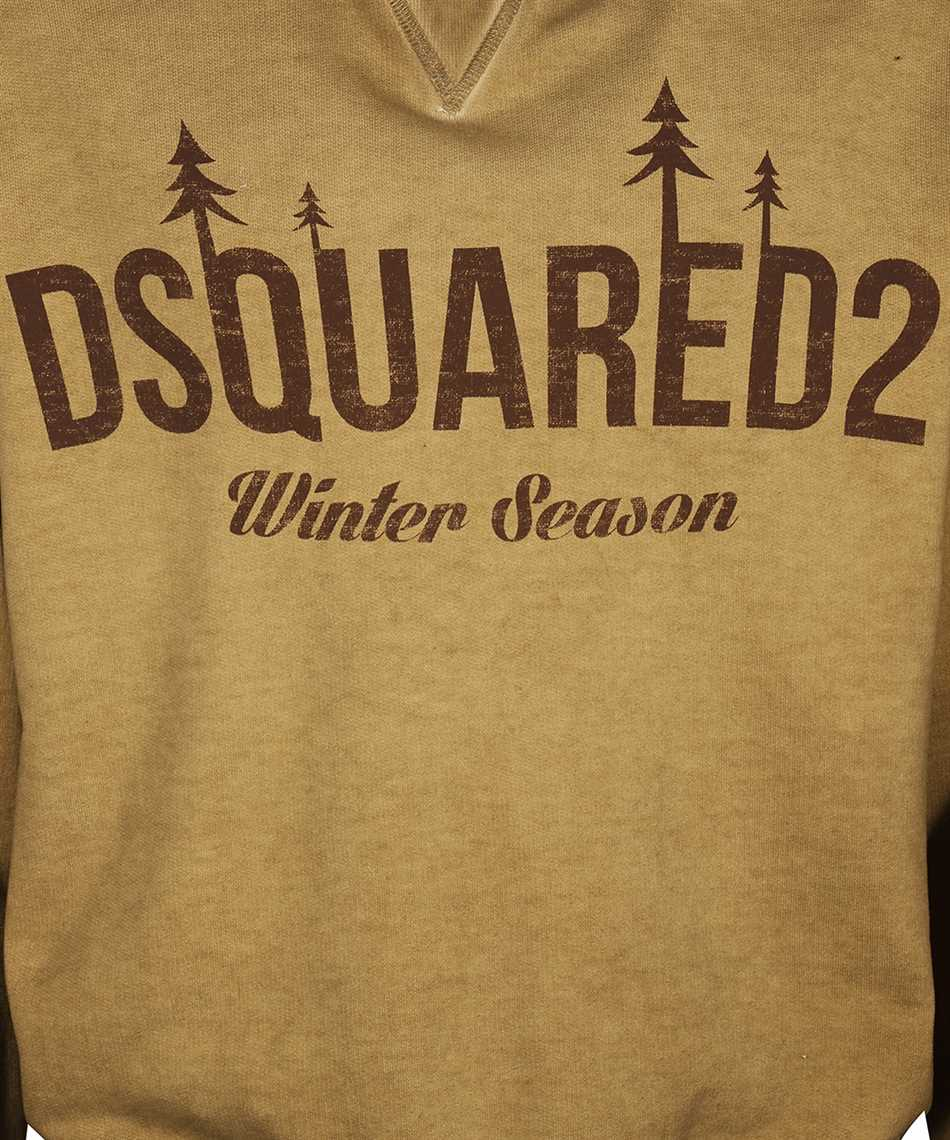 Dsquared2 S71GU0401 S25030 WINTER SEASON Kapuzen-Sweatshirt 3