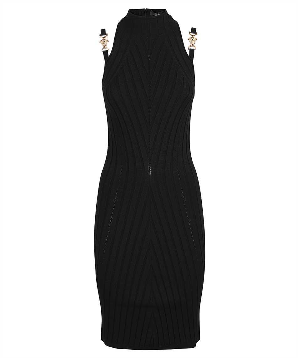 Versace 1000968 1A00664 MEDUSA RIBBED KNIT Dress 1