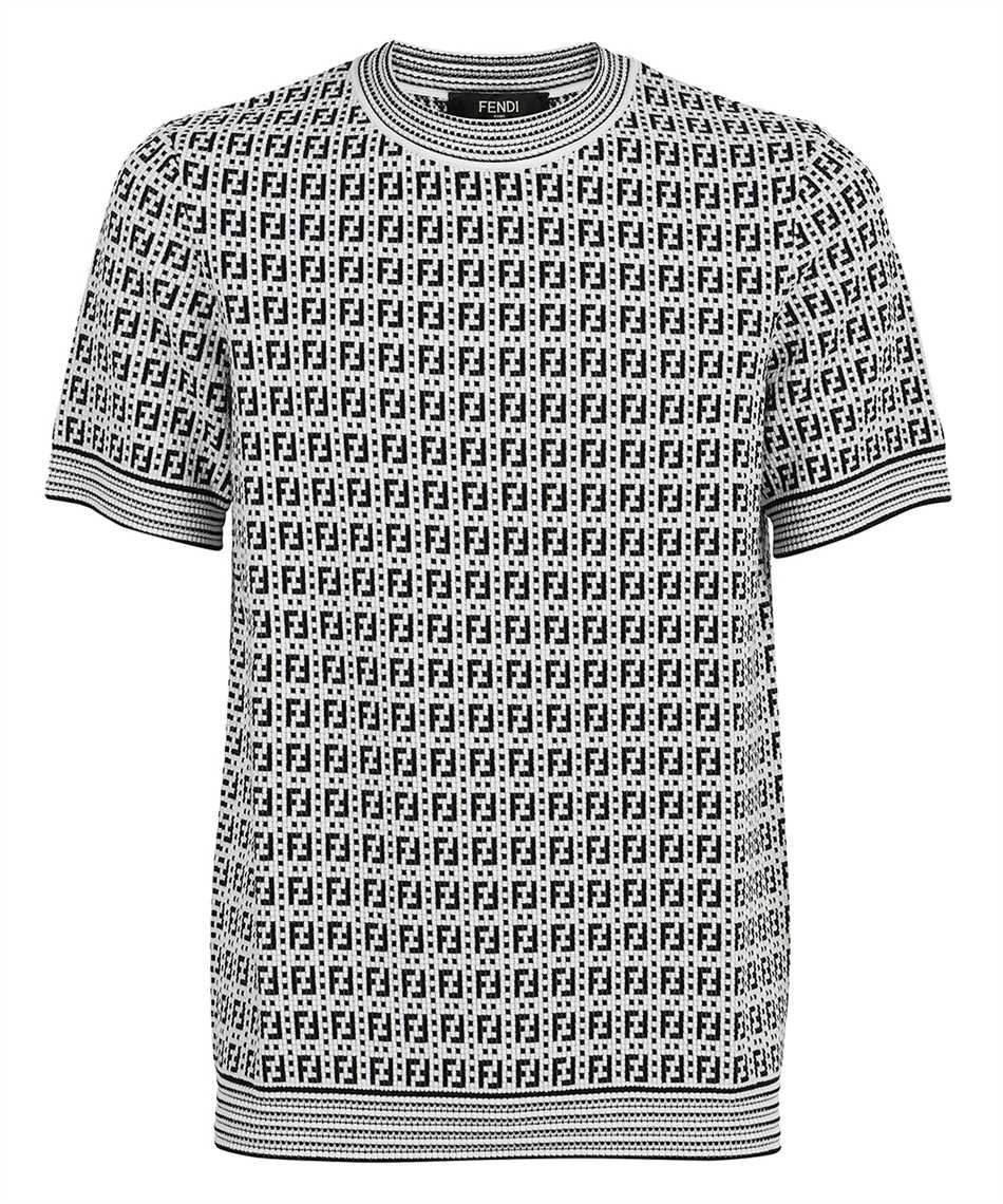 Fendi FZY426 AF59 FF INTERLACE KNIT T-shirt 1