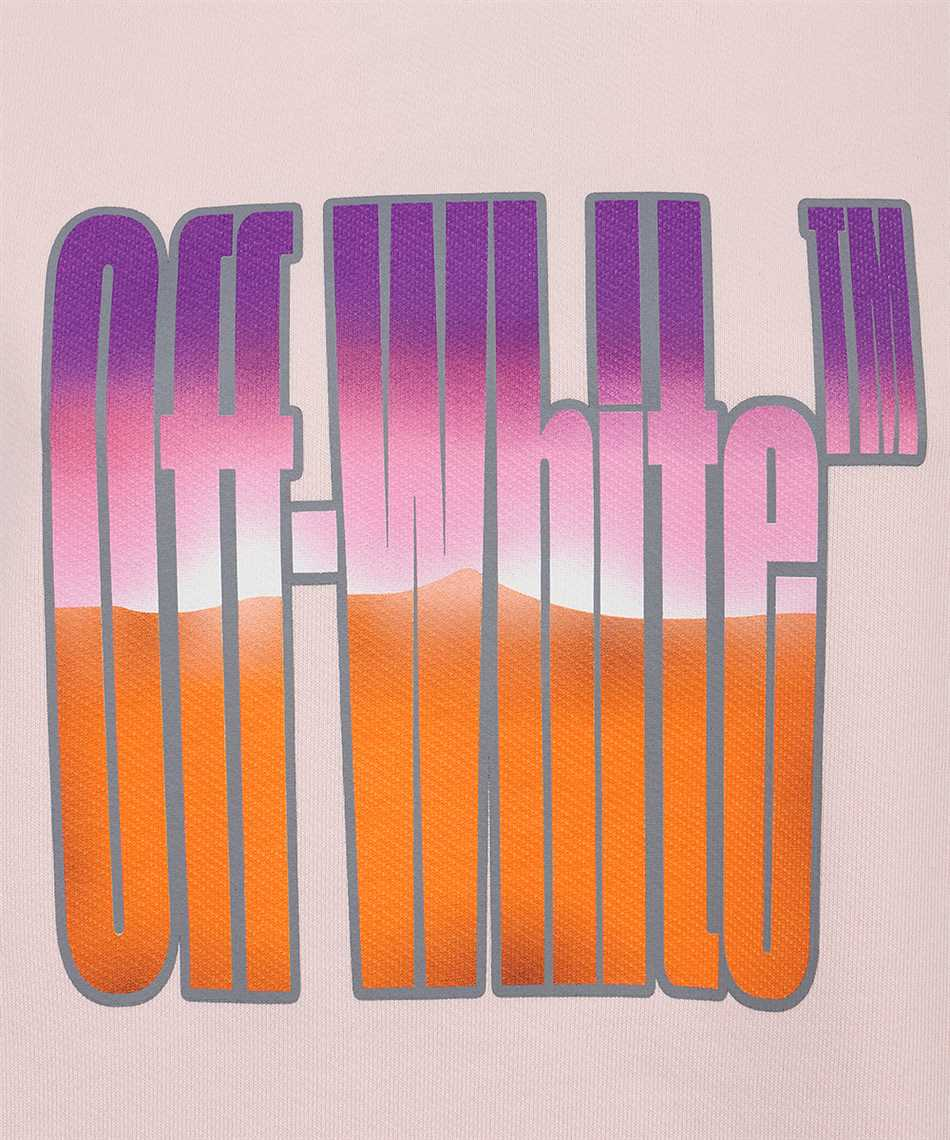 Off-White OWBB035R21JER006 GRADIENT OFFWHITE REG Kapuzen-Sweatshirt 3