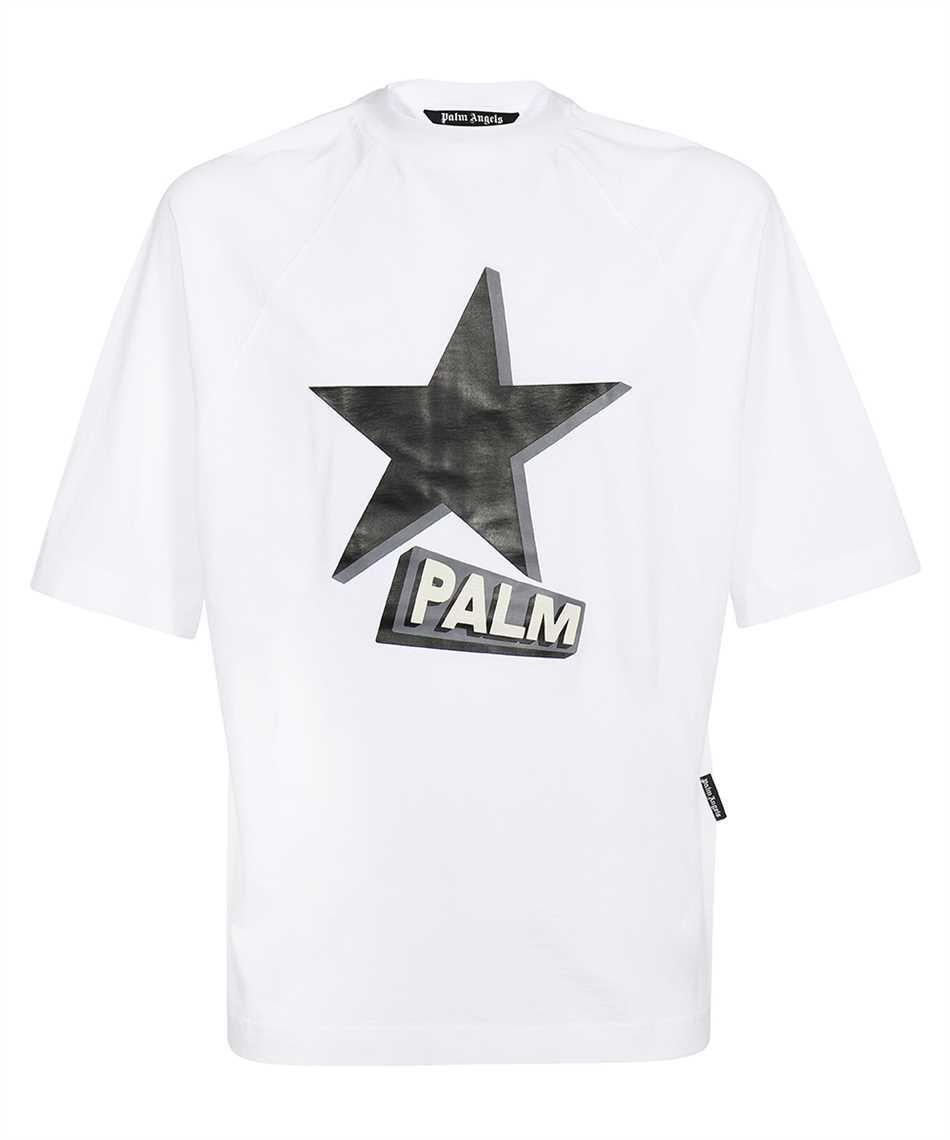 Palm Angels PMAA068F21FLE001 ROCKSTAR OVER RAGLAN T-shirt 1