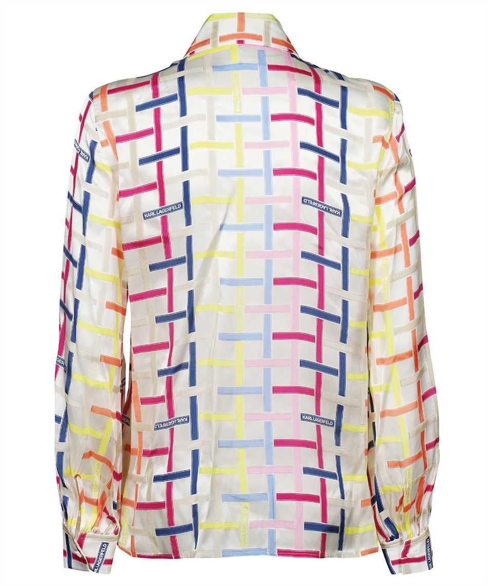 Karl Lagerfeld 215W1603 KARL CHECKED SILK Camicia 2