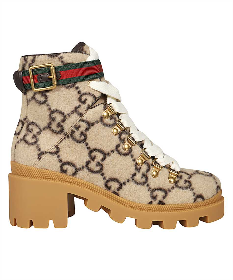 Gucci 578585 G38H0 GG WOOL Boots 1