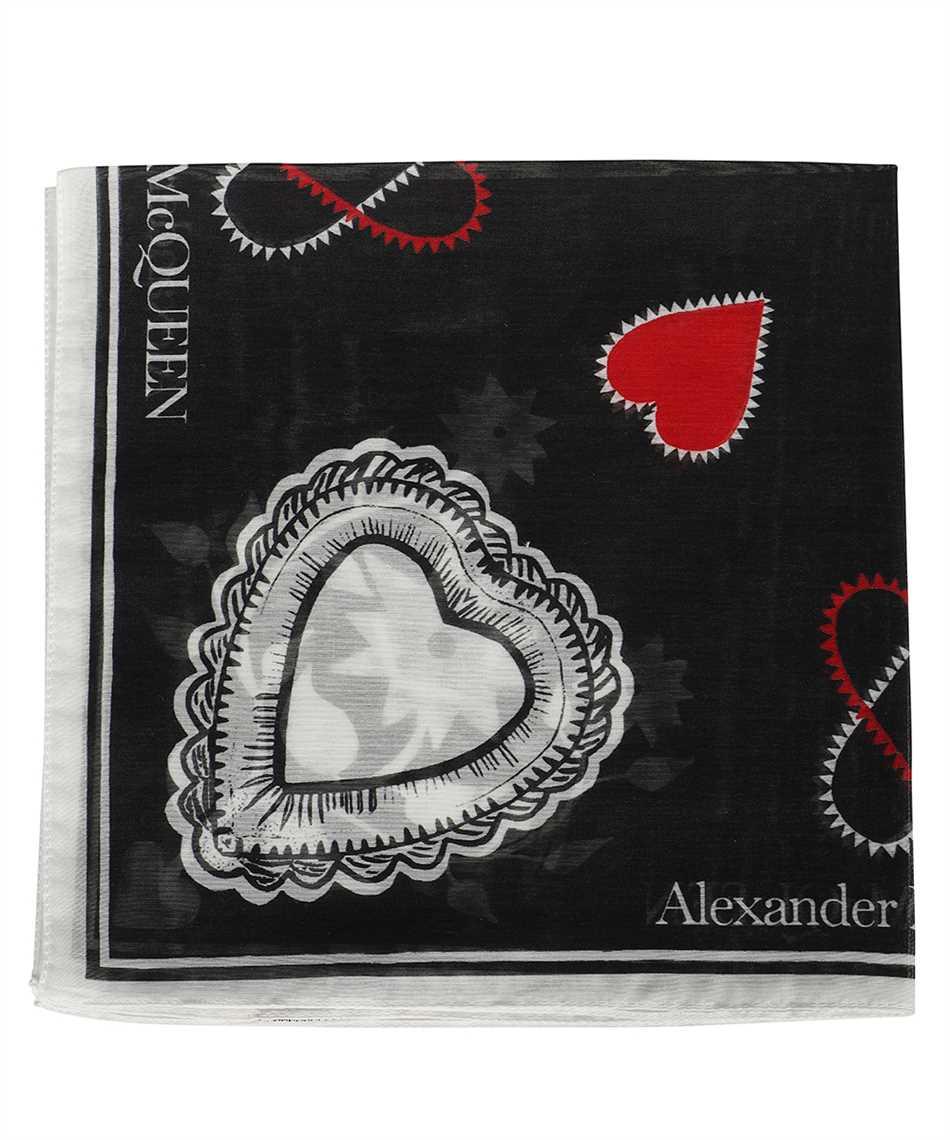 Alexander McQueen 666214 3624Q MYSTIC Schal 1