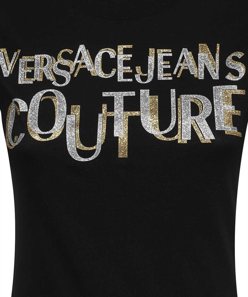 Versace Jeans Couture 71HAHT02 CJ00T LOGO GLITTER T-shirt 3