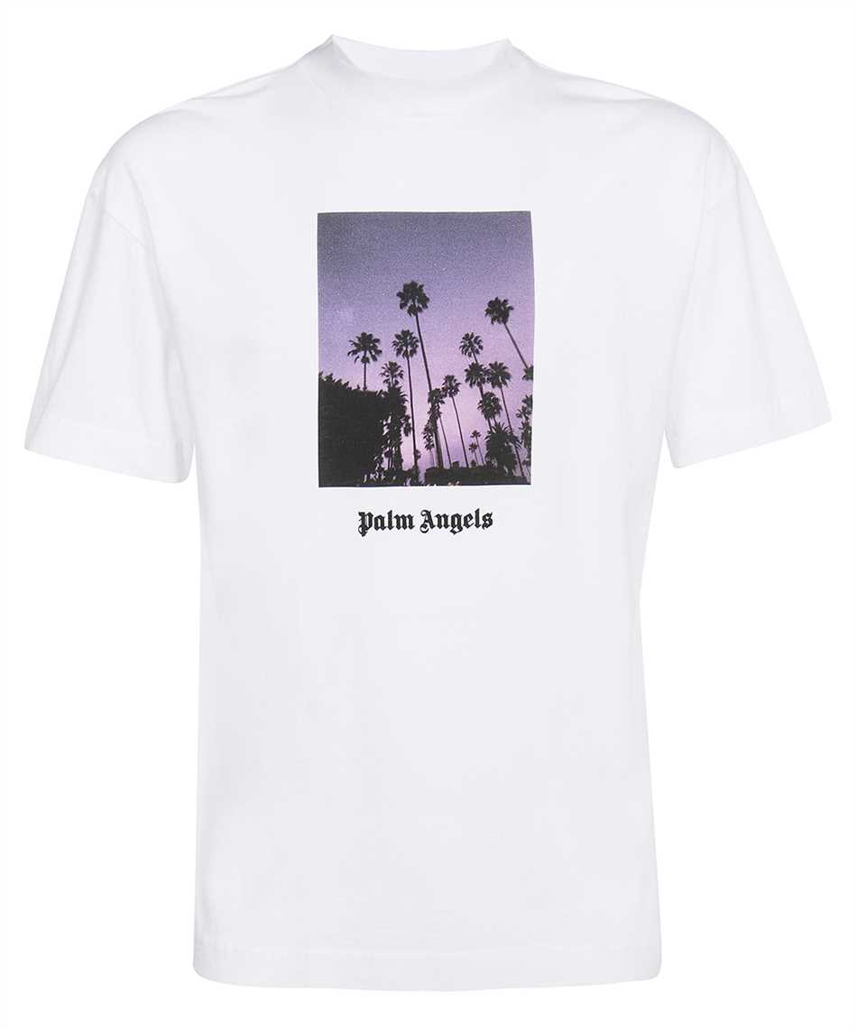 Palm Angels PMAA001F21JER016 STARS AND PALMS T-shirt 1
