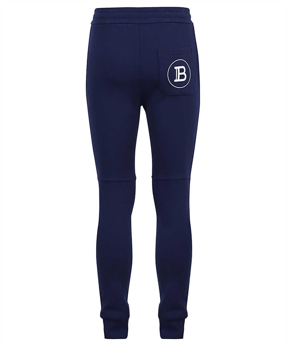 Balmain VH1OB000B028 PRINTED RIBBED Trousers 2