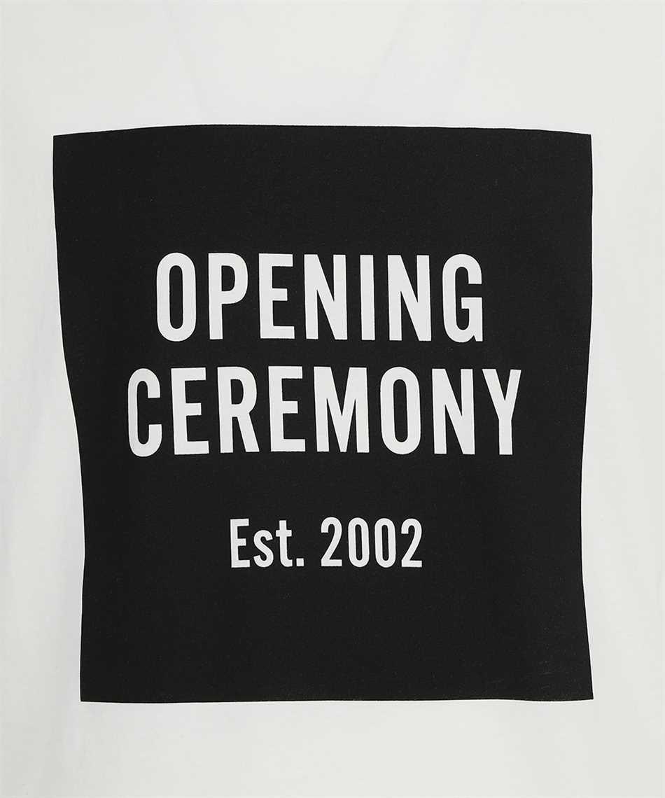 Opening Ceremony YMAA001F21JER001 BOX LOGO REGULAR T-Shirt 3