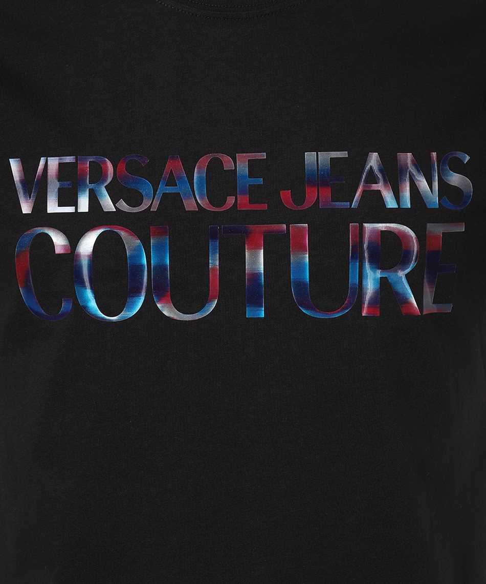 Versace Jeans Couture B3GWA7GB 30382 SLIM LOGO REFLECTIVE T-Shirt 3