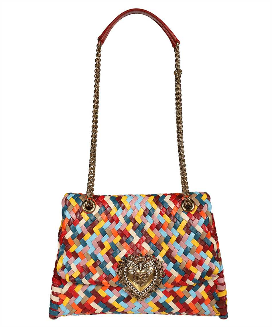 Dolce & Gabbana BB6728 AO324 LARGE DEVOTION SHOULDER Borsa 1