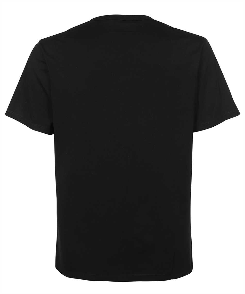 Maison Kitsune HM00136KJ0008 FOX PATCH CLASSIC POCKET T-shirt 2